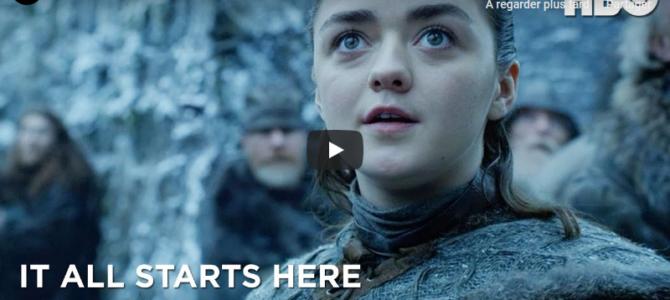 Arya voit des dragons pour la première fois dans cette nouvelle vidéo promo HBO