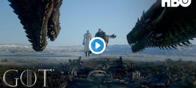 Bande annonce officielle de l'ultime saison 8 de Game of Thrones !