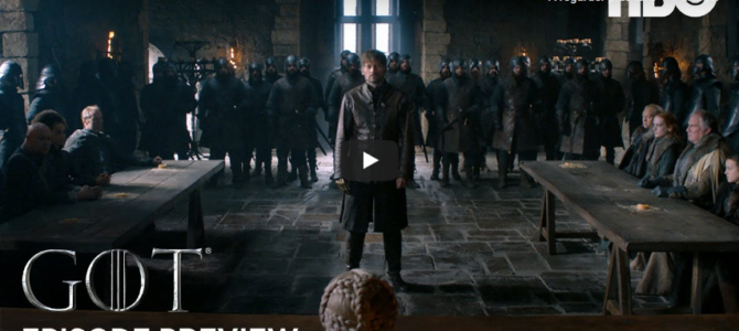 Bande annonce Game of Thrones saison 8 épisode 2