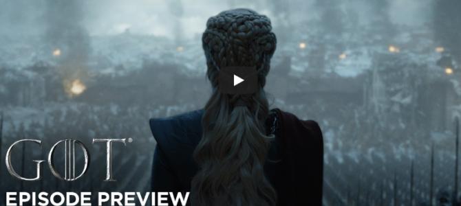 Bande annonce Game of Thrones saison 8 épisode 6 – Series Finale
