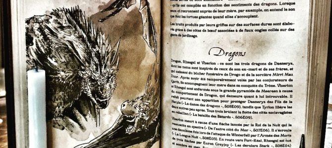 Livre : Codex des 7 couronnes, le bréviaire illustré de la saga Game of Thrones